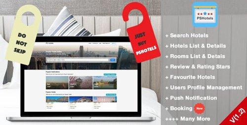 CodeCanyon - PSHotels Website (Ultimate Hotels Finder Website With Backend) v1.3 - 21672782