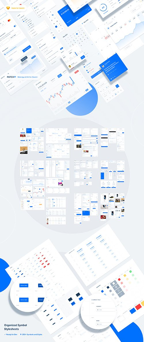 Patch UI – Web App UI Kit