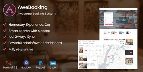 CodeCanyon - AweBooking v1.1 - Awesome Booking System - 25564281