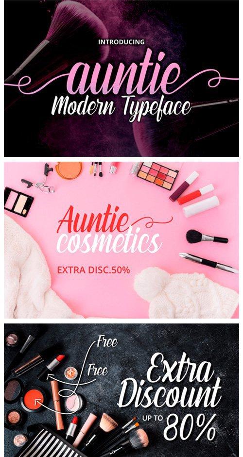 Auntie Font