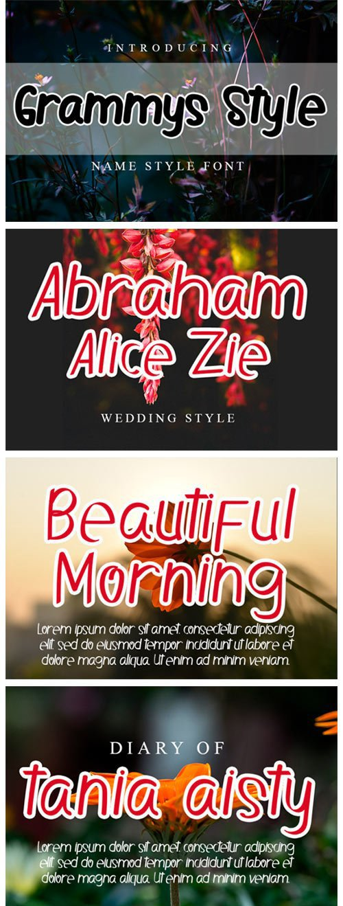 Grammys Style Font