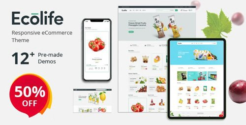 ThemeForest - Ecolife v1.0.1 - Organic, Food, Cosmetic & Multipurpose Prestashop Theme - 25992348