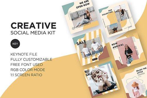Creative Social Media Kit - Keynote