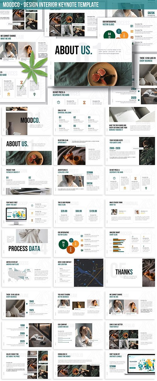 Moodco - Design Interior Keynote Template