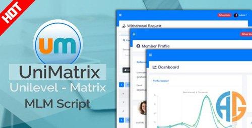 CodeCanyon - UniMatrix Membership v1.2.2 - MLM Script - 25882083 - NULLED