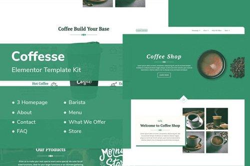 ThemeForest - Coffesse v1.0 - Coffee Shop Elementor Template Kit - 26416285