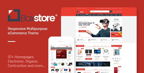 ThemeForest - BoxStore v1.0 - Multipurpose Prestashop Theme - 26660773