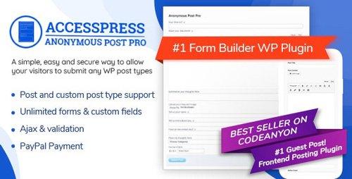 CodeCanyon - AccessPress Anonymous Post Pro v3.2.8 - 9160446