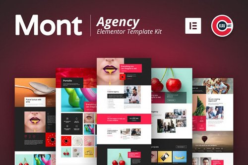 ThemeForest - Mont v1.0 - Agency Template kit - 25974726
