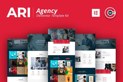 ThemeForest - ARI v1.0 - Agency Template Kit - 26422723
