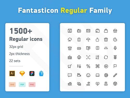 Fantasticon Regular Family