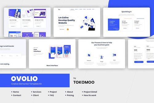 ThemeForest - Ovolio v1.0 - Creative Elementor Template Kit - 26373955