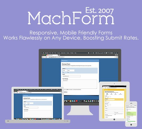 MachForm v13.0 - Responsive, Mobile Friendly Forms - NULLED