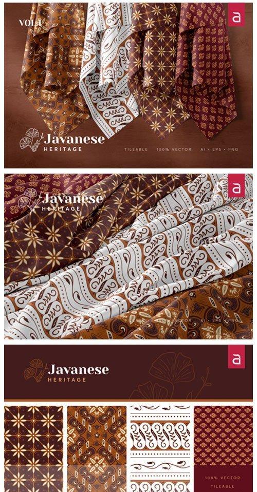 Javanese Heritage: Seamless Batik Vol 1 4125178