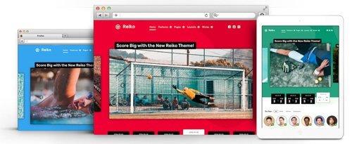 RocketTheme - Reiko v1.2.3 - Joomla Theme