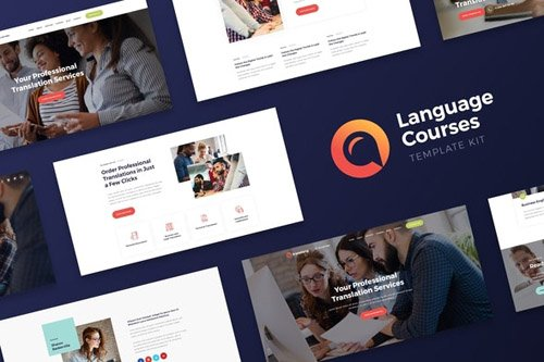 ThemeForest - Translang v1.0 - Language Courses & Translation Services Elementor Template Kit (Update: 15 May 20) - 26030906