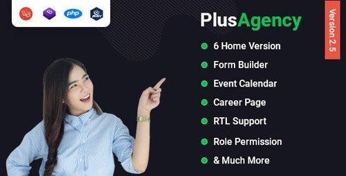 CodeCanyon - PlusAgency v2.5 - Multipurpose Website CMS & Business Agency Management System - 24646161 - NULLED