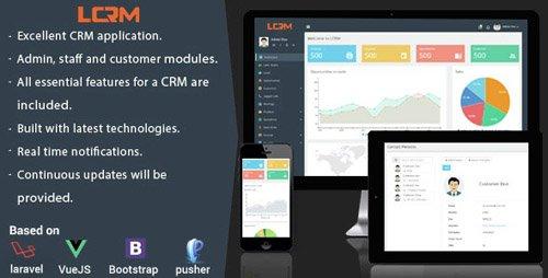CodeCanyon - LCRM v2.3 - Next generation CRM web application - 14506615