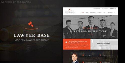 ThemeForest - Lawyer Base v1.24 - Attorney WordPress - 11268639