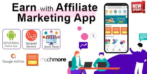 CodeCanyon - Affiliate Marketing app with PHP Backend | Earn with All in one app (Update: 14 December 19) - 23633601