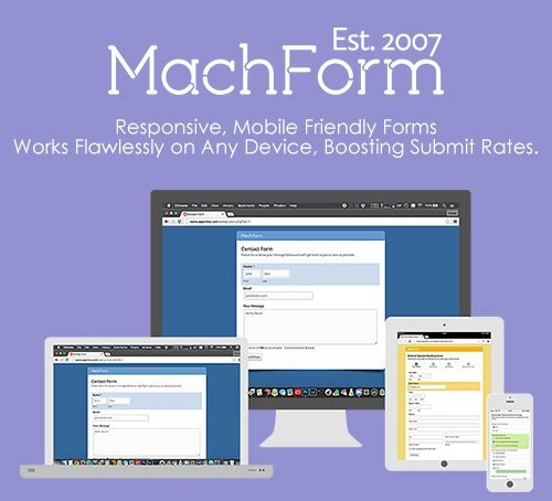 MachForm v14.0 - Responsive, Mobile Friendly Forms - NULLED