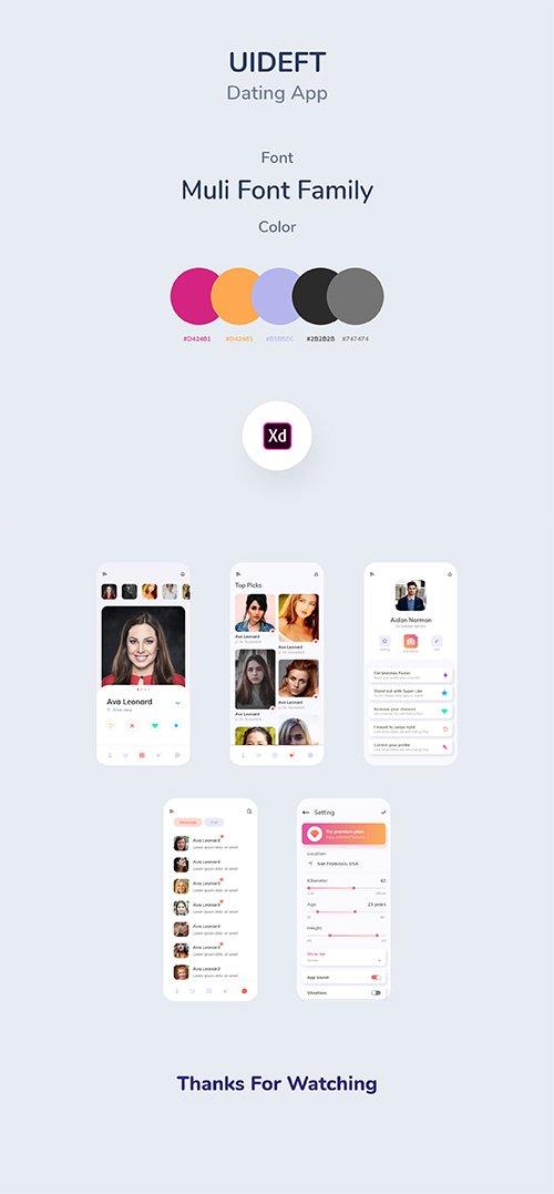 UIDeft Dating App