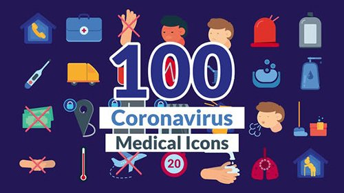 Corona Virus Icons 26721767