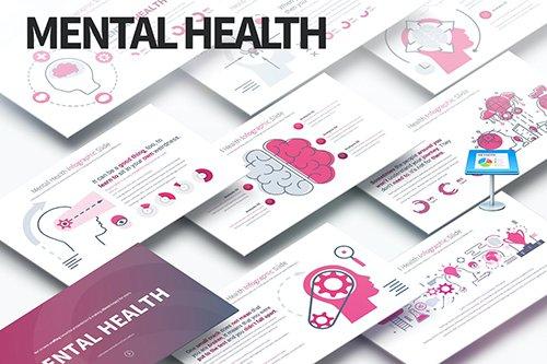 MENTAL HEALTH - Keynote Infographics Slides