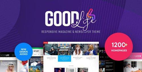 ThemeForest - GoodLife v4.2.0 - Magazine & Newspaper WordPress Theme - 1363882 - NULLED
