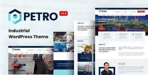 ThemeForest - Petro v3.2.0 - Industrial Company WordPress Theme - 20217564