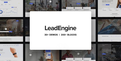 ThemeForest - LeadEngine v2.1 - Multi-Purpose WordPress Theme with Page Builder - 21514338 - NULLED