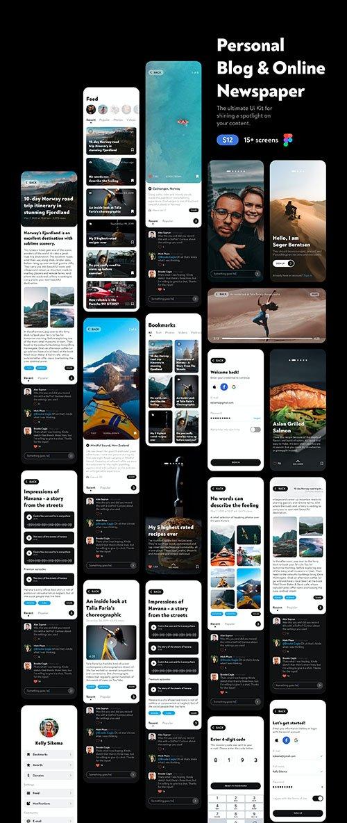 Personal Blog & Online Newspaper