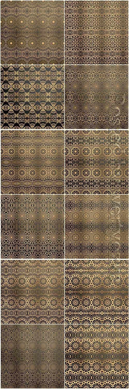 Mandala seamless pattern, islamic vector background # 24