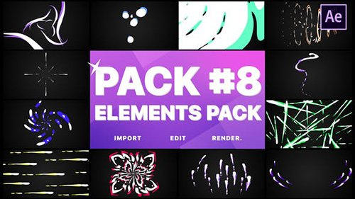 Flash FX Elements Pack 08 | After Effects 26737977
