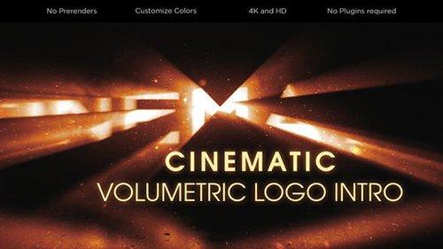 Cinematic Volumetric Logo Intro 26753343