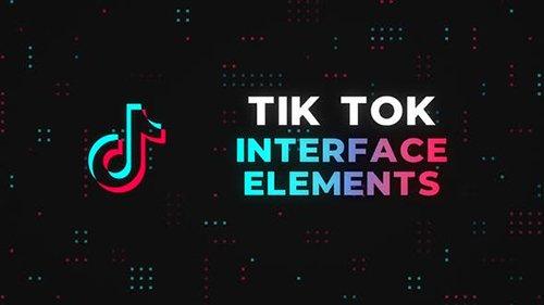 Tik Tok Interface Elements 26764135