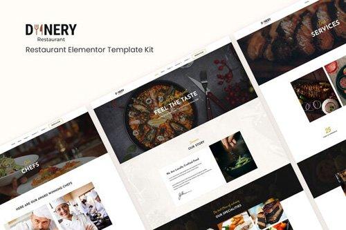 ThemeForest - Dinery v1.0 - Restaurant Elementor Template Kit - 26126769