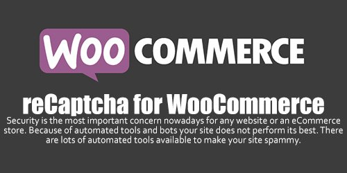 WooCommerce - reCaptcha v1.0.9