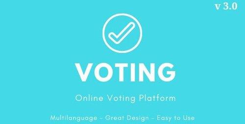 CodeCanyon - Voting v3.0 - Online Voting Platform - 21376141