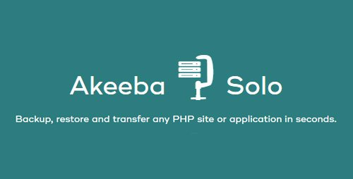 Akeeba - Solo Pro v7.1.2 - Backup, Restore & Transfer Any PHP Site