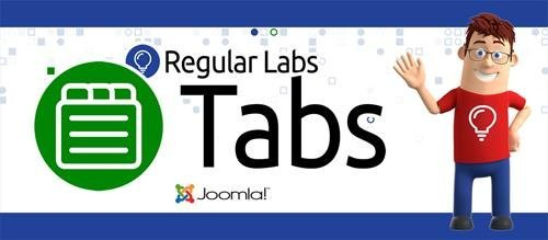 Tabs Pro v7.5.11 - Make content tabs in Joomla