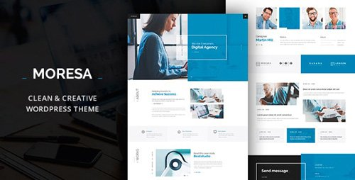 ThemeForest - Moresa v1.7.3 - Startup Agency Theme - 19851084