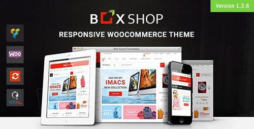 ThemeForest - BoxShop v1.3.6 - Responsive WooCommerce WordPress Theme - 20035321