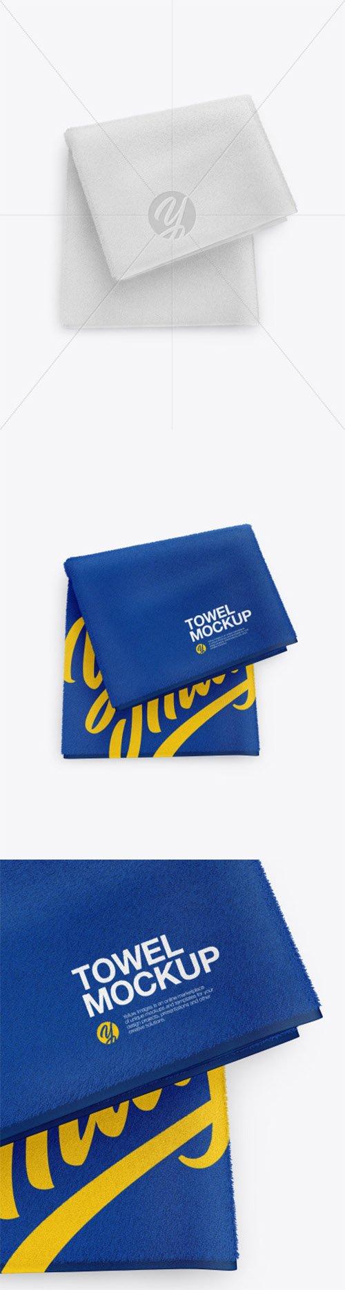 Folded Towel Mockup 60880 TIF