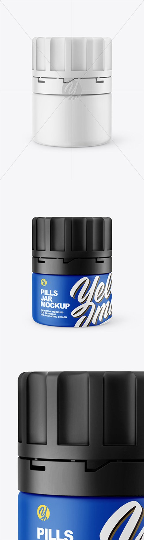 Matte Pills Jar Mockup 60871 TIF