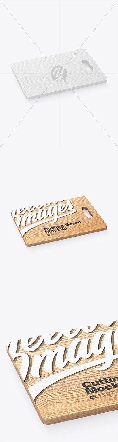 Wooden Cutting Board Mockup 60840 TIF