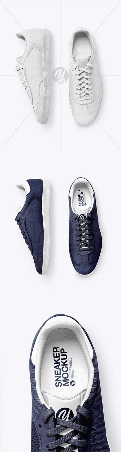 Realistic Sneakers Mockup 60789 TIF