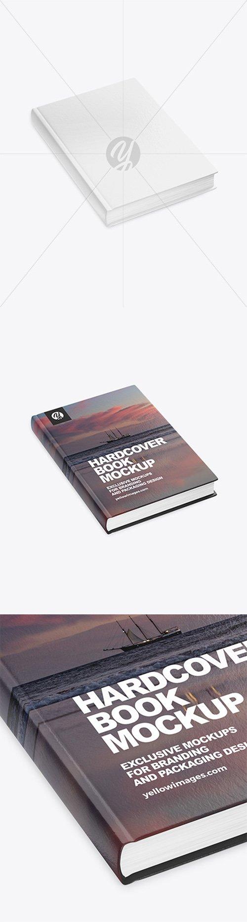Hardcover Book Mockup 60693 TIF