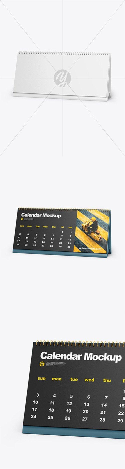 Desk Calendar Mockup 60214 TIF