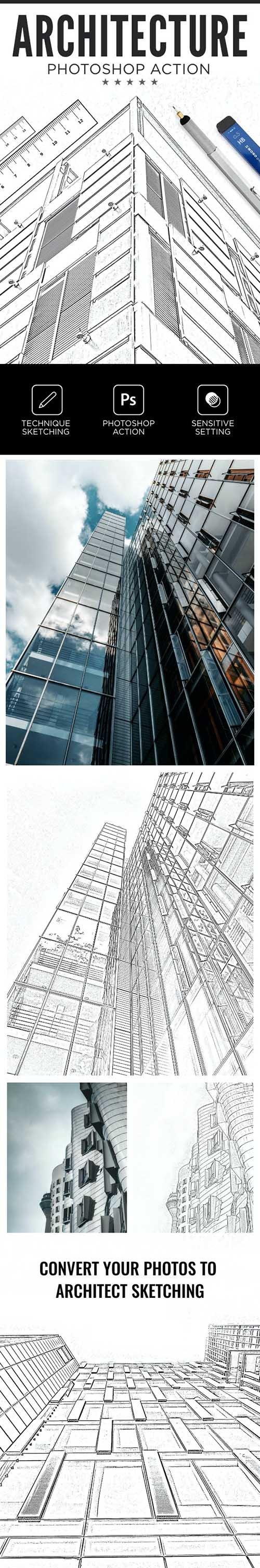 Architecture Photoshop Action 26533251